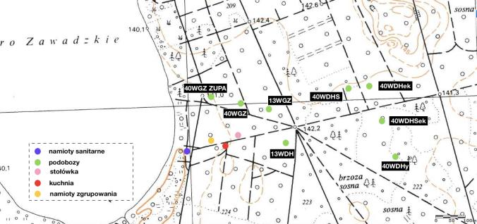 mapa obozu